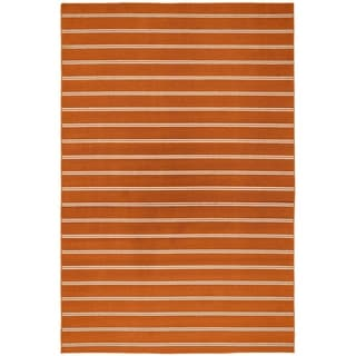 Avery OrangeLiving Room Area Rug - 5' x 7'5""