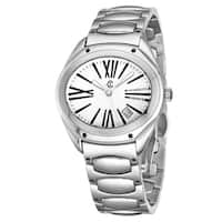 Charriol Women's FL.140.FL05 'The Force' Silver Dial Stainless Steel Quartz Watch