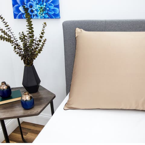 SwissLux NightSpa Luxury Pillowcase with Skin Enhancing Cupron