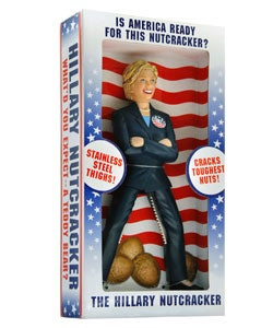 Hillary Clinton Nutcracker - Thumbnail 1
