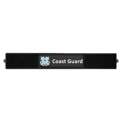 "FANMATS U.S. Coast Guard Vinyl Drink Mat 3.25""x24"""