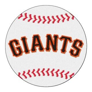 """FANMATS MLB - San Francisco Giants Baseball Mat Ball Mat 27"""" diameter - 2'3"""" Round"""