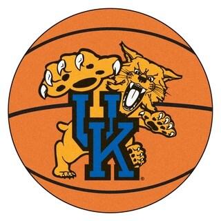 """FANMATS University of Kentucky Basketball Mat Ball Mat 27"""" diameter - 2'3"""" Round"""