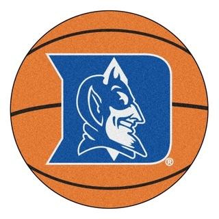 """FANMATS Duke University Basketball Mat Ball Mat 27"""" diameter - 2'3"""" Round"""