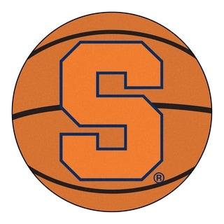 "FANMATS Syracuse University Basketball Mat Ball Mat 27"" diameter - 2'3"" Round"