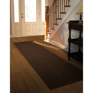 Medallion Chocolate  Large Living Room Area Rug Runner
