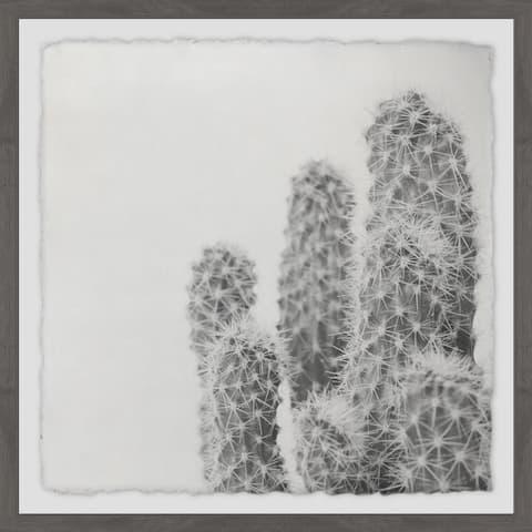 Marmont Hill - Handmade Thorny Bunch Framed Print
