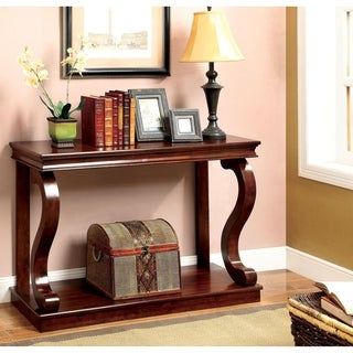 Williams Import  Geelong Transitional Console Table in Cherry Finish