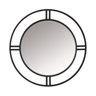 Copper Grove Epernay Metal Dual-framed Circular Wall Mirror