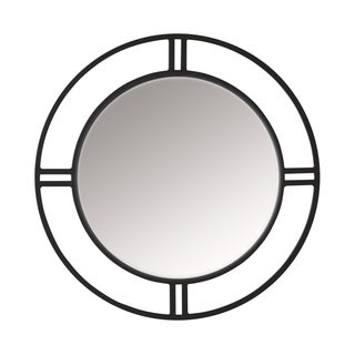 Copper Grove Epernay Metal Dual-framed Circular Wall Mirror
