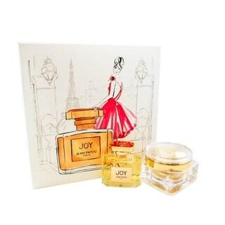 Joy 2 Pc. Gift Set ( Eau De Parfum Spray 2.5 Oz & Body Cream 3.4 Oz)