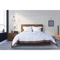 Nexera Karibou 3 Piece Bedroom Set, Truffle