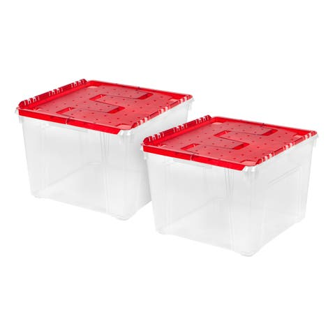 IRIS Ornament Storage Box (2-Pack)