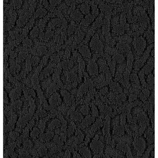 Porch & Den Helvetia Black Ivy Pattern Large Runner Rug