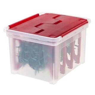 Christmas Light Storage Box with 4 Light Wraps