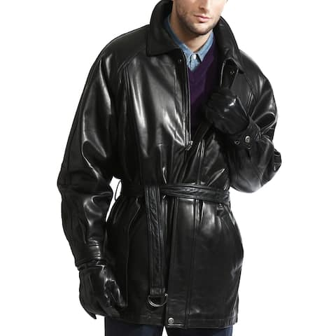The Godfather Lambskin Leather Coat