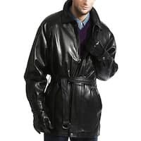 The Godfather Lambskin Leather Coat