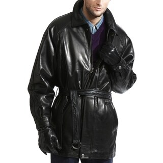 Link to The Godfather Lambskin Leather Coat Similar Items in Men's Outerwear