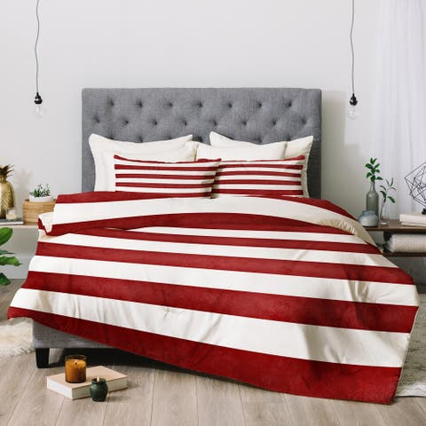 Deny Designs Striped 3-Piece Comforter Set