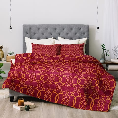 Deny Designs Trellis 3-Piece Comforter Set