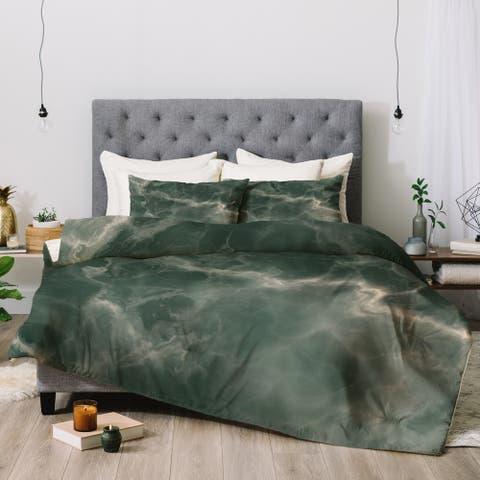 Deny Designs Marble 3-Piece Comforter Set