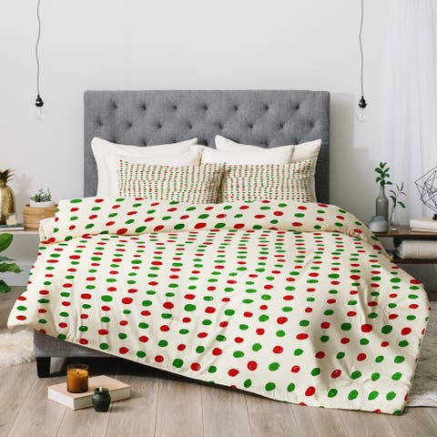 Deny Designs Polka Dot 3-Piece Comforter Set