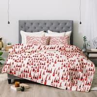 Deny Designs Santa 3-Piece Comforter Set