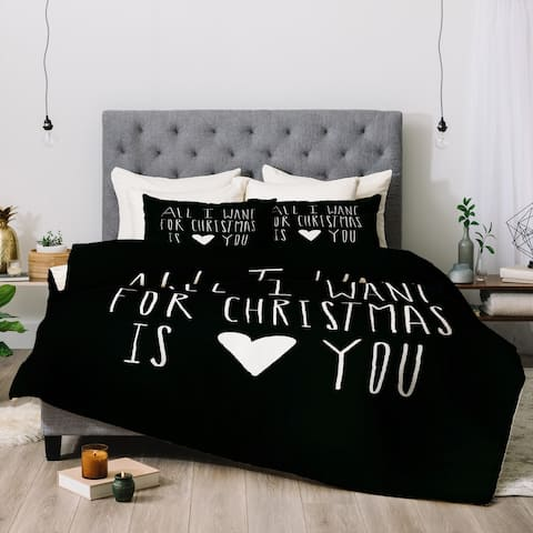 Deny Designs All I Want For Christmas 3-Piece Comforter Set