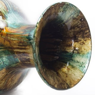 Tinsley 23 In. Foiled and Lacquered Floor Vase