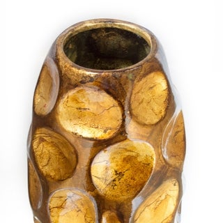 Tinsley 13 In. Foiled and Lacquered Table Vase
