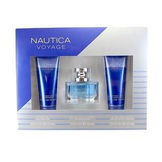 Nautica Voyage 3-piece Gift Set