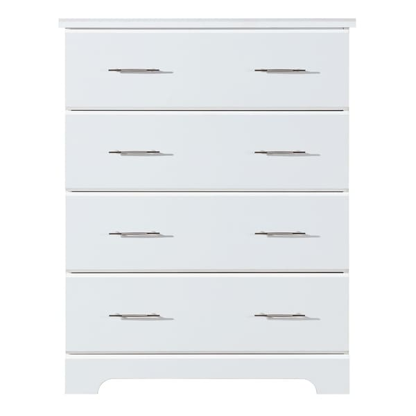 Storkcraft Brookside 4 Drawer Chest - Durable, Modern, and Stylish Storage Solution with 4 Spacious Drawers