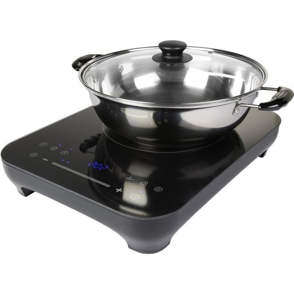 Midea Induction Portable Cooktop With 9 Saute Pan And Gl Lid Free Shipping Today 25685881