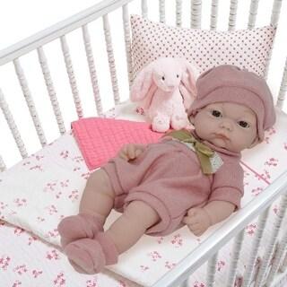 10 Inch Newborn Lifelike Baby Doll - Vinyl Body Doll with Realistic Features - Bonus Baby Doll Clothing