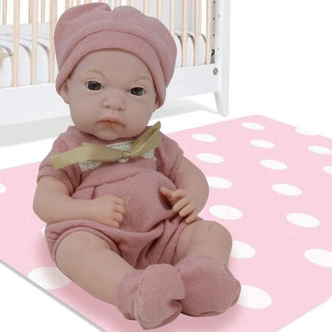 12 Inch Newborn Baby Doll Vinyl Body Realistic Features Bonus Clothing