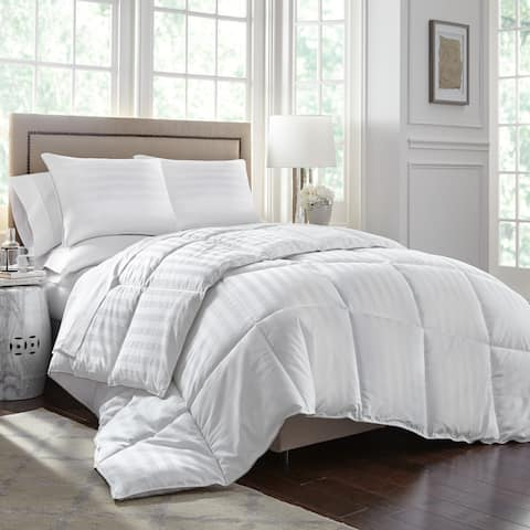 Stearns and Foster Luxury Primacool Comforter - White