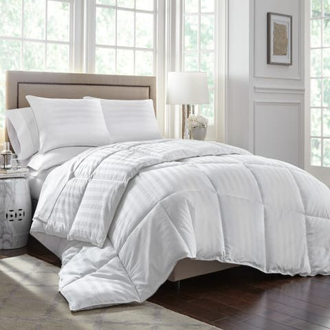 Porch & Den Maureen White Tencel/cotton Luxury Comforter