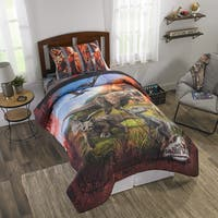 "Jurassic World 2 ""Eruption"" Reversible Comforter"