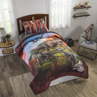 "Jurassic World 2 ""Eruption"" Reversible Comforter"