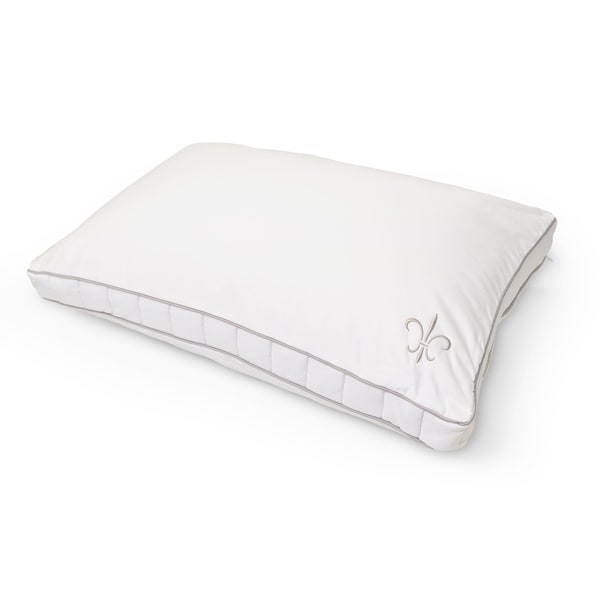 """Stearns & Foster 2"""" Gusset Hypoallergenic 1000 Thread Count Pillow - White"""