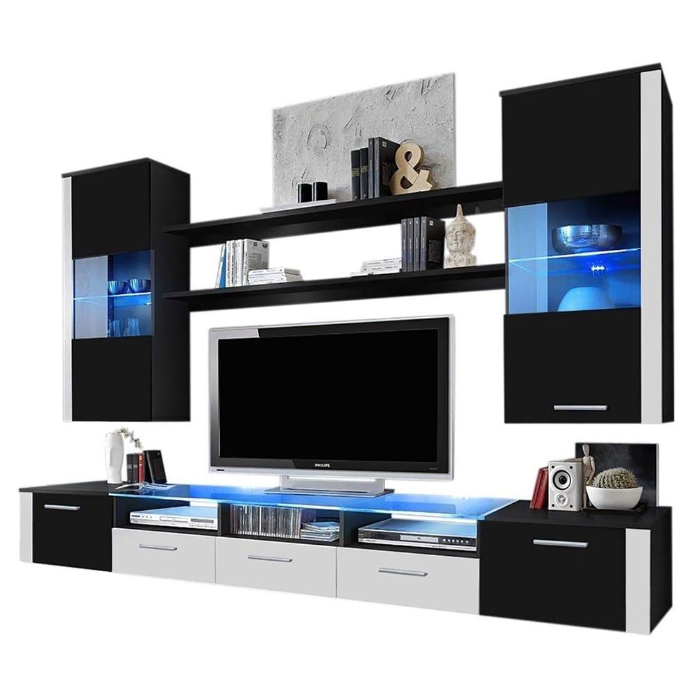 fresh wall unit modern entertainment center