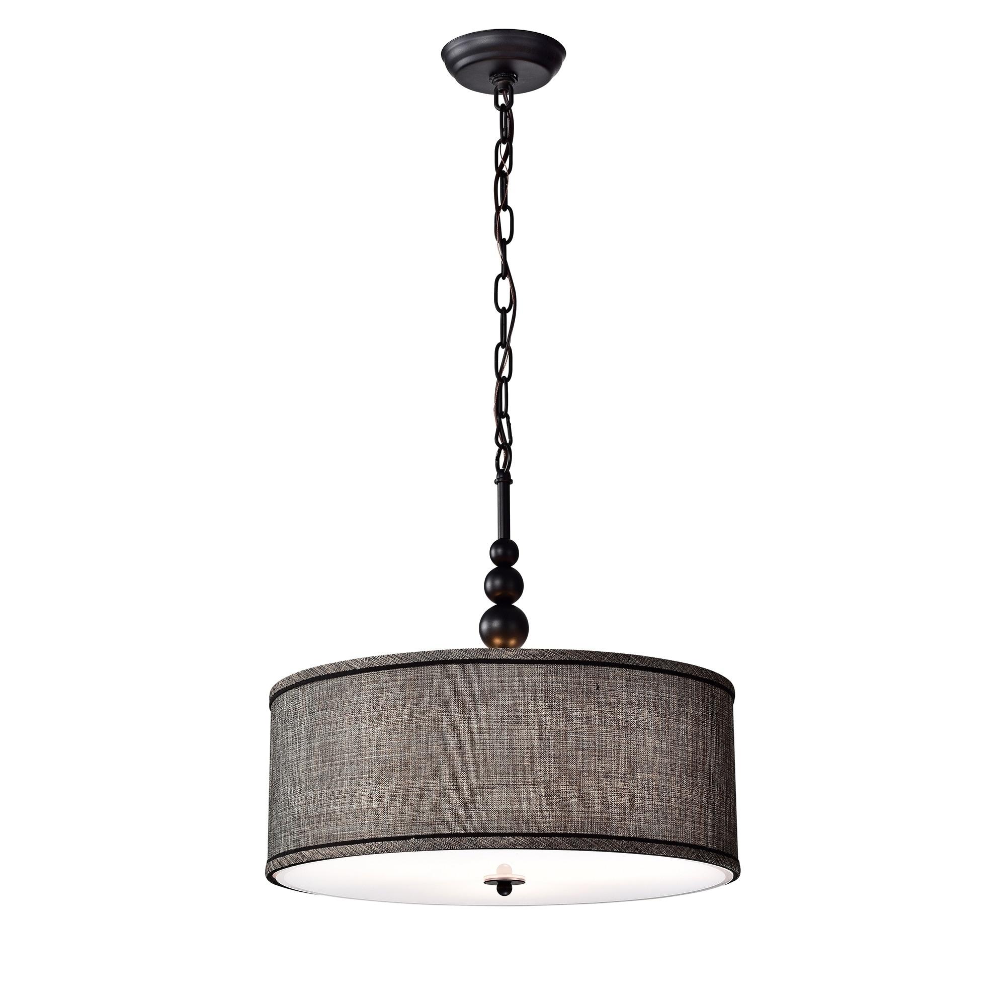 Penelope Woven Black 18 Inch Drum Pendant Lamp On Sale Overstock 25686453