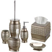 Dublin 6-Piece Bathroom Accessories Set (Brushed Silver)
