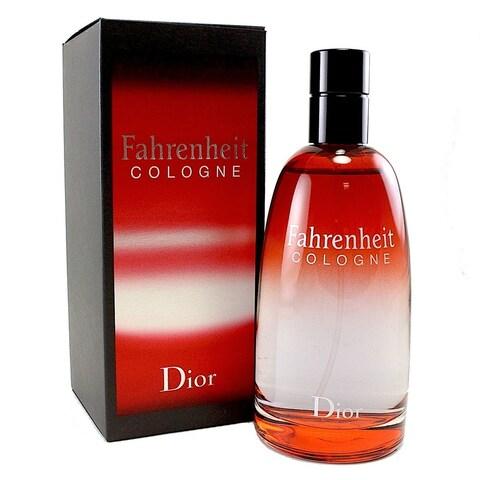 Christian Dior Fahrenheit Men's 4.2-ounce Cologne Spray