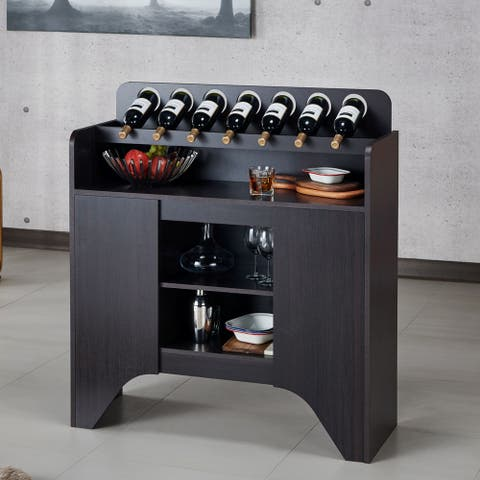 Strick & Bolton Franz Espresso Storage Buffet