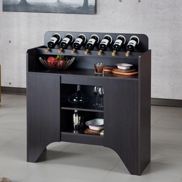 Strick & Bolton Franz Espresso Storage Buffet. Opens flyout.