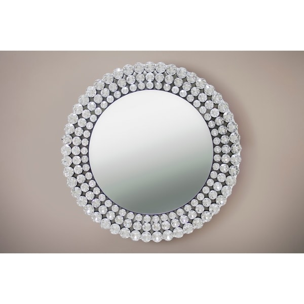 Best Quality Furniture Round Crystal Wall Mirror