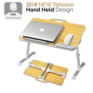 Kavalan Portable Laptop Table Angle Adjustable Sit Notebook Stand Holder for Sofa Couch