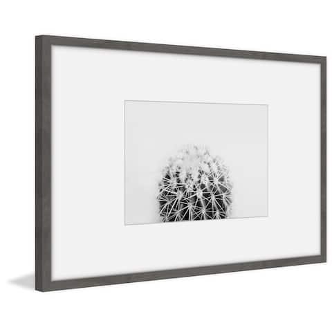 Marmont Hill - Handmade Beautifully Spread Thorns Framed Print