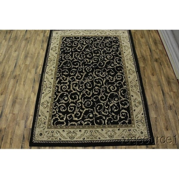 Shop Oushak Floral Tufted Wool Persian Oriental Area Rug: Shop Agra Traditional Hand Tufted Oushak Floral Oriental